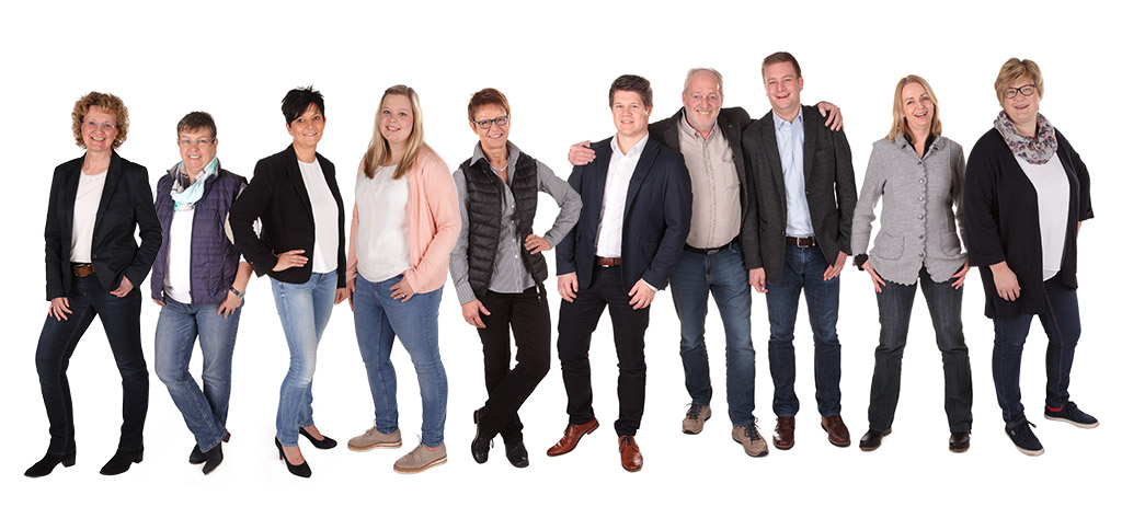 Das Kanzlei-Team